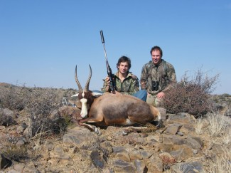 Blesbuck-in-rocky-terrain---guided-hunts