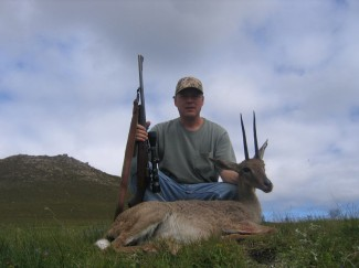 Vaal-Rhebuck-on-Africa-Safari-hunt