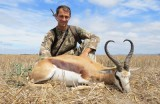 One day Springbuck hunt in South Africa